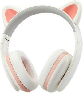 Censi Music Headset Headphone Creative Cat Ear Stereo Over-Ear Gaming Bass Headset