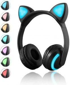 Luckyu Wireless Bluetooth Cat-Ear Headphones