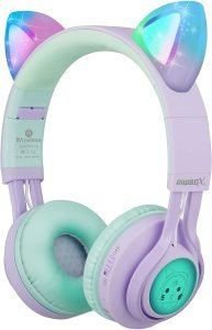 Riwbox CT-7S Cat Ear Bluetooth Headphones